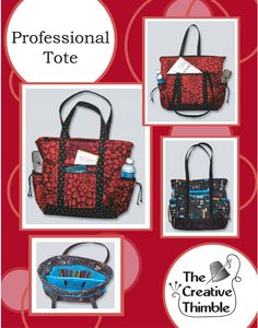 pattern for making this tote, perfect for any size knitting project plus all the other essentials PTCover