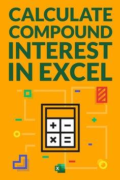 Learn how to quickly calculate compound interest in Excel. I'll show you a simple formula that you can use to calculate compound interest monthly, quarterly, yearly. I will also show you how to use the FV function in Excel to calculate the compound interest. And also created a simple Compound Interest Calculator Excel template that you can download for free Microsoft Excel Formulas, Excel For Beginners, Interest Calculator, Excel Hacks, Pivot Table, Fun Fall Activities, Microsoft Office, Business Tips, Cyber