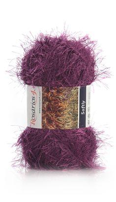 SOFTLY | Ball 50g Composition: 100% Polyester Needles: 7 (USA 10 1/2)
