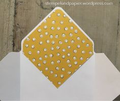Anleitung für Umschlageinlagen mit dem Envelope Punch Board Mehr Diy Envelope, Envelope Punch Board, Mail Art Envelopes, Stamping Up, Stampin Up Cards, Diy Tutorial, Projects To Try, Paper Crafts, Scrapbook