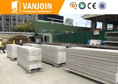 120mm Exterior Wall - Vanjoin Group Lightweight EPS Cement Sandwich Wall Panel