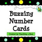 Have fun using these bee themed/polka dot number cards!    Use these on you classroom calendar or as a way to organize student materials by number....