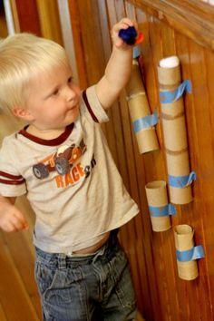 9 idées de jeux très simples pour enfants!