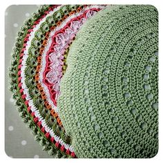 crochet pillow cushion free pattern