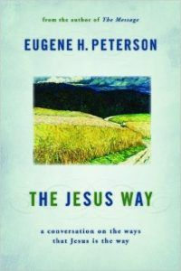 """""""Jesus as the truth gets far more attention than Jesus as the way""""; Eugene Peterson encourages us to look at living out the with-God life in more personal ways, immersed in the """"particulars and people""""; with which and whom we live."""