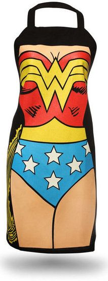 Gifts for Moms — Wonder Woman Apron