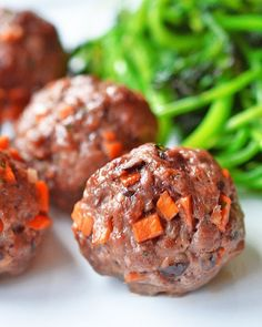 Asian Meatballs by Michelle Tam http://nomnompaleo.com