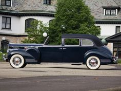 1941 Packard Super Eight One-Eighty All-Weather Town Car with custom coachwork…