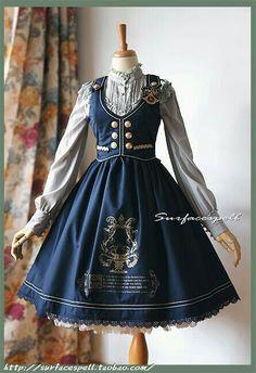 Vestido Estilo Victoriano