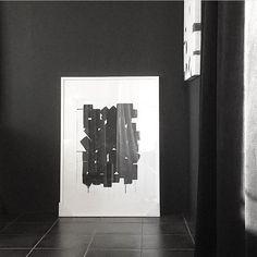 Abstrakt – Svartar fjaðrir