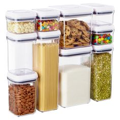 These containers rock!  They keep food fresh, easy to store and can be used for storing so many things!