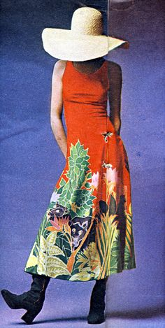 The Sunday Times Magazine, August 1970. Photographed by Hans Feurer.