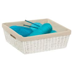 Found it at Wayfair - Parchment Cord Basket with Liner