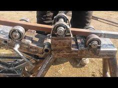ТРУБОГИБ самодельный ручной для профильной трубы ( tube bender ) - YouTube