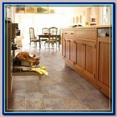 (paid link) Why wood kitchen floors are all on top of magazines and blogs #woodfloorkitchen Best Flooring For Kitchen, Vinyl Flooring Kitchen, Kitchen Vinyl, Bedroom Flooring, Kitchen Redo, Kitchen Remodel, Ceramic Flooring, Maple Kitchen, Garage Flooring