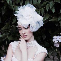 #editorialcomopoesia Instagram photos | #Brides by Graciella Starling  Bespoke Milliner and Bridal designer  www.graciellastarling.com https://instagram.com/graciellastarling/