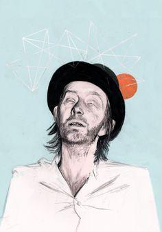Thom York by Timothy Lamb