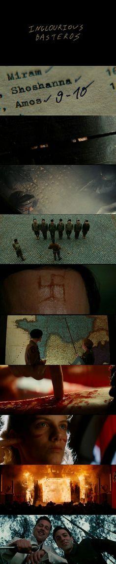 Inglourious Basterds (2009) - Cinematography Robert Richardson   Directed by Quentin Tarantino.