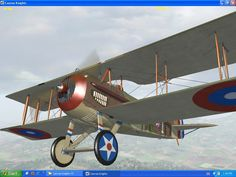 Spad..French fighter plane of World War I