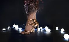 A rose gold, high heel Rendezvous. Hot Heels, Party Shoes, Ladies Party, Rose Gold, Women, Women's