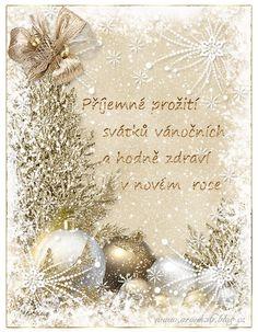 Vánoční přání 3 | vánoční blog Christmas Wreaths, Blog, Holiday Decor, Christmas Garlands, Holiday Burlap Wreath, Blogging