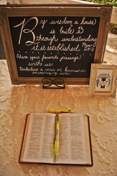 highlight scripture wedding idea - Google Search
