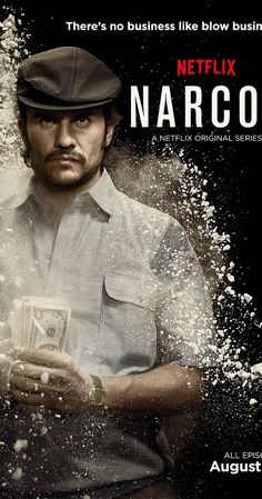Created by Carlo Bernard, Chris Brancato, Doug Miro.  With Wagner Moura, Boyd Holbrook, Pedro Pascal, Joanna Christie. A chronicled look at the criminal exploits of Colombian drug lord Pablo Escobar.