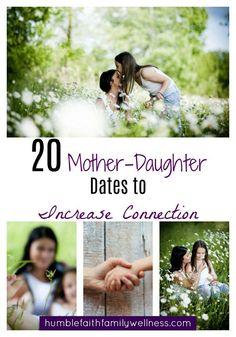 mother-daughter dates, parenting