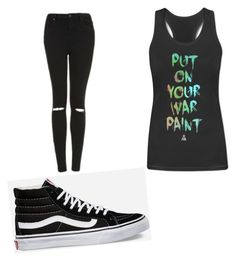 """""""Untitled #100"""" by tia12502 on Polyvore featuring Topshop and Vans"""