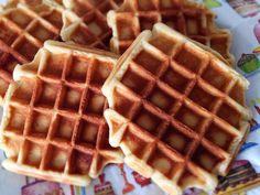 Vegan kochen und genießen: Gaufres de Liège - belgische vegane Waffeln