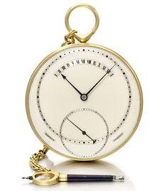 George daniels – Spring-Detent Chronometer Tourbillon Watch