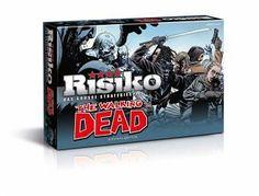 DIE WELT WIE WIR SIE KENNEN IST GESCHICHTE! RISIKO THE WALKING DEAD - DIE SURVIVAL EDITION - Das neue RISIKO The Walking Dead - Die Survival Edition für Fans!