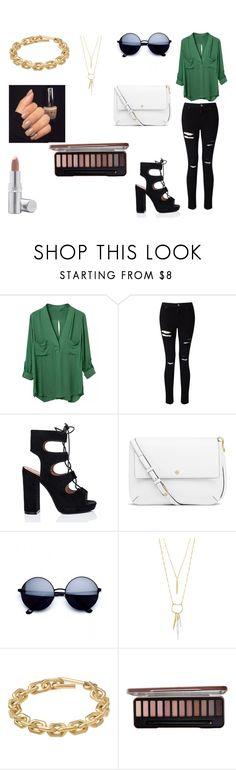 """Loose"" by colorfulnay on Polyvore featuring Miss Selfridge, Tory Burch, Stella & Dot, Calvin Klein and La Prairie"