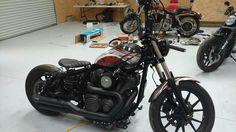 Yamaha Bolt Custom, Custom Bobber, Scrambler, Sport Bikes, Twin, Motorcycles, Car, Motorbikes, Sportbikes