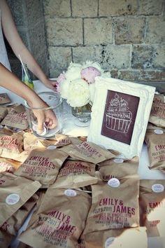 Favors Wedding Inspiration - Style Me Pretty