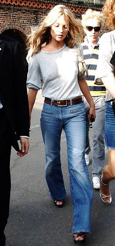 grey t-shirt+jeans - my favorite outfit