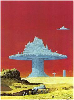 70s sci-fi art