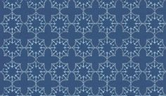 Anchor Tile Marine (BG1000102) - Barneby Gates Wallpapers - An unusual, geometric nautical tile design made up of anchors and chains shown here in a rich blue and pale blue colourway. Other colourways available. Pattern repeat is actually 7.4cm not as shown below. Please request sample for true colour match.