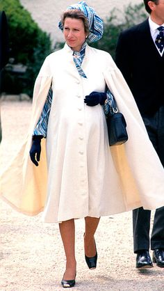 Princess Anne pregnant with Zara in 1981! Won't be long until it is Zara's turn! https://twitter.com/BalanceActiv