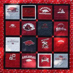 Arkansas Razorback Quilt