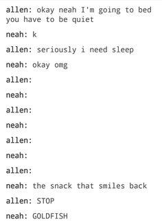 Allen and Neah