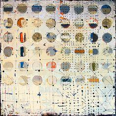 Fibonacci 190, by Jylian Gustin. Interesting idea, one of many on the same theme. #art_journal #pattern