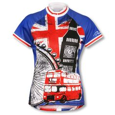 The London Jersey is the perfect blend of style and function. It'll leave you wanting to race down the streets of London!