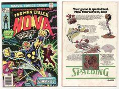 NOVA 1 Marvel Comic Book Bronze Age 1977 1st Appearance