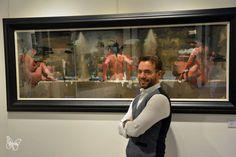 """the aim of every artist is to arrest motion…"" -Faulkner Christian Hook, Modern Art, Contemporary Art, Galleries In London, Impressionism Art, Sky Art, Art Series, Figure Drawing, Figurative Art"