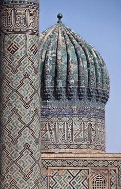 Mosque of Samarkand, Uzbekistan