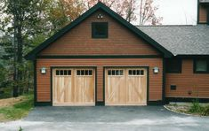 Barn Garage Doors With When A Home Has The Garage Attached To The Main Building Keeping The On Uncategorized