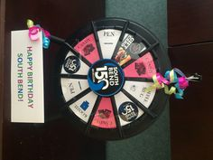 Spend February's First Friday with free games & giveaways at the Downtown South Bend Old National Bank. Spin the SB150-themed prize wheel and win a prize donated by Old National Bank. Buy this Prize Wheel at http://PrizeWheel.com/products/tabletop-prize-wheels/micro-prize-wheel/.