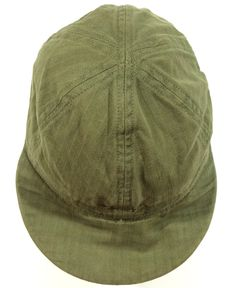 255d89ccdc1 WWII HBT Type A-3 US Army Air Force Mechanic s Summer Cap