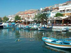 Pithagorio Samos Greece Holiday Destinations, Travel Destinations, Samos Greece, Journey Live, Greece Islands, Wonderful Places, Places To Visit, Wanderlust, Decor Ideas
